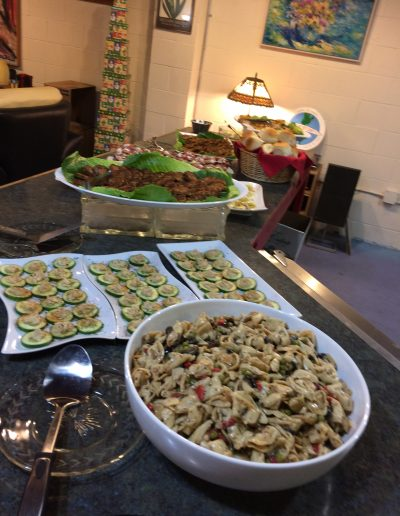 COPIA Tortellini Salad and Appetizer Platters